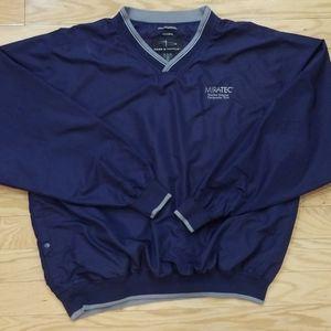 Page & Tuttle Golf Pullover Windbreaker Jacket